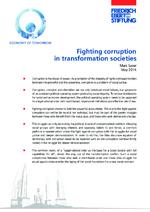 Fighting corruption in transformation societies