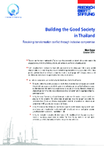 Building the good society in Thailand