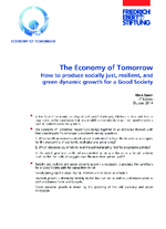 The economy of tomorrow